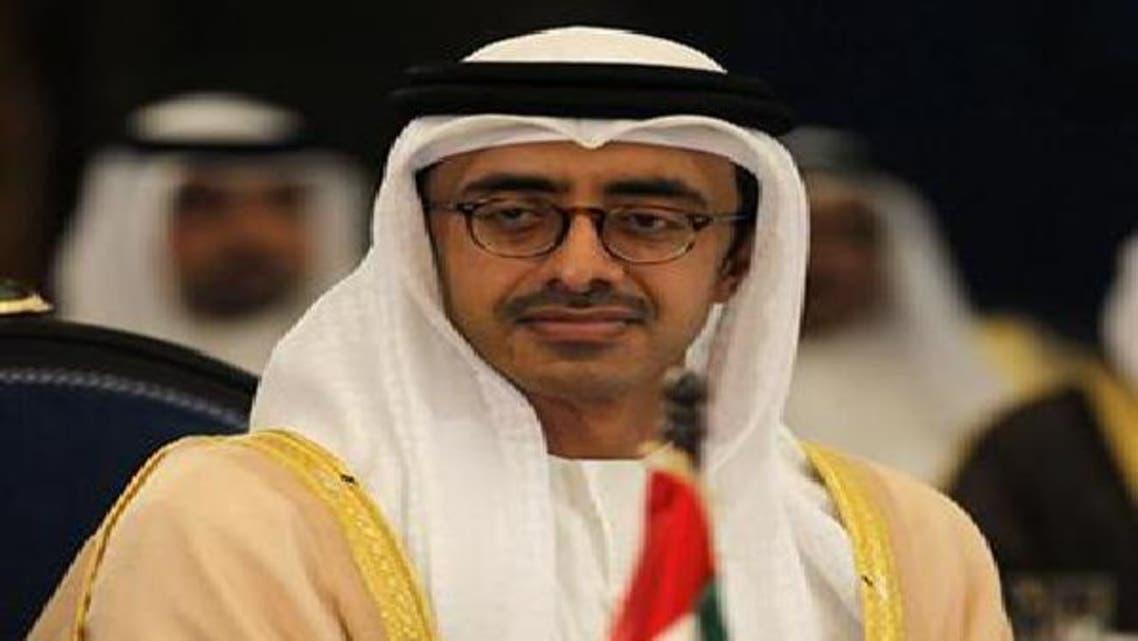 وزير خارجية الإمارات الشيخ عبد الله بن زايد آل نهيان