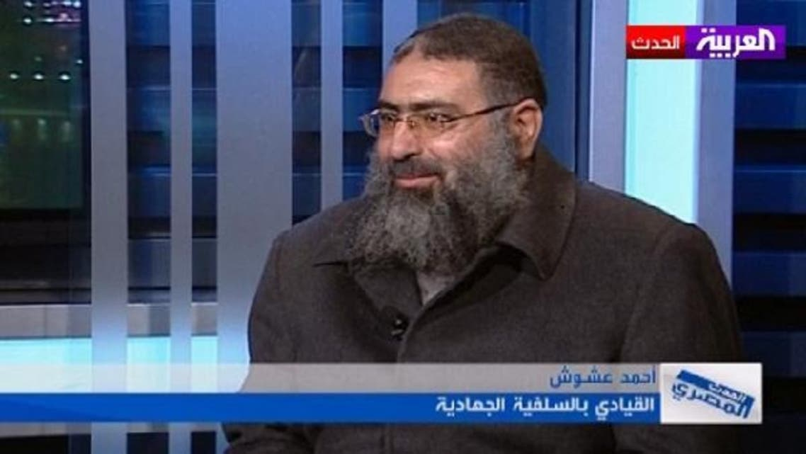 "Ahmad Ashoush describing Egypt\'s Mohammed Morsi as \\""illegitimate.\\"" (Al Arabiya)"