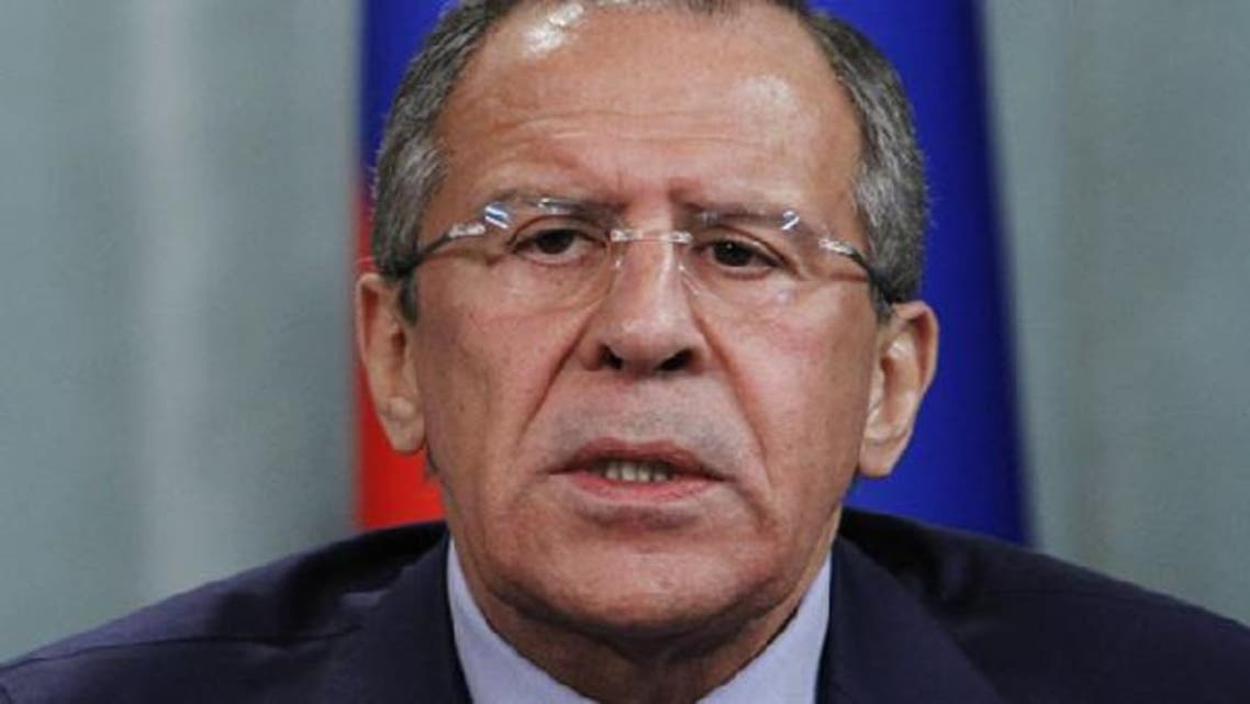 Russian Foreign Minister Sergei Lavrov arrived in Riyadh for talks on Syria crisis.(Reuters)