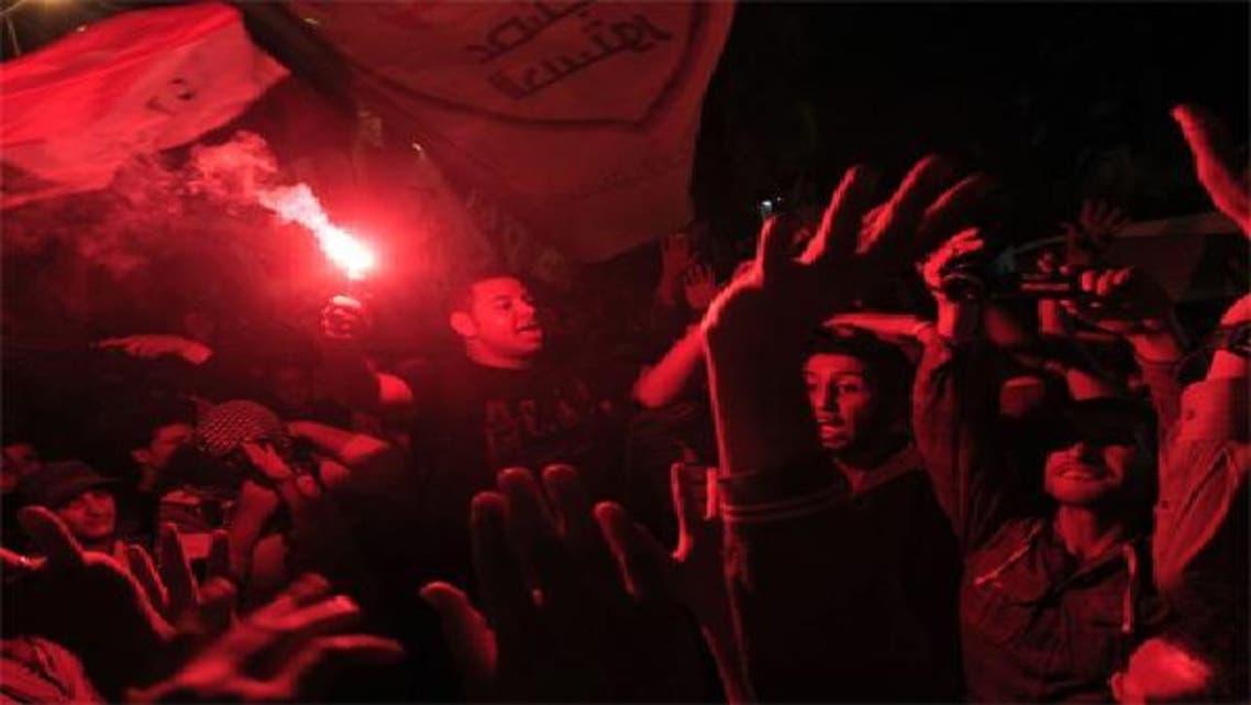 جانب من المشاركين فى فعاليات الذكرى الأولى لموقعة محمد محمود