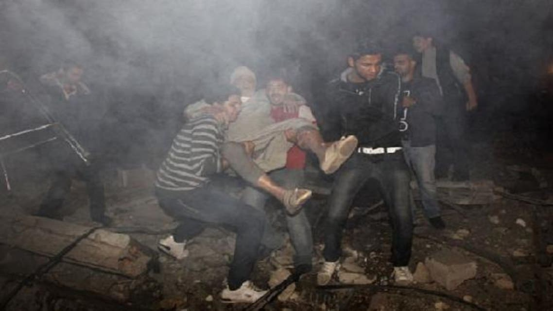 The Palestinian death toll rose to 19, four of them children, since Israeli airstrikes began on Wednesday. (AFP)