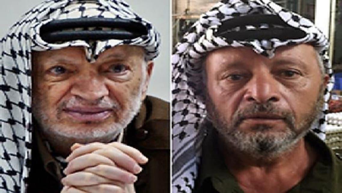 دائیں: سالم سمیرات ۔۔۔۔ بائیں: مرحوم یاسر عرفات