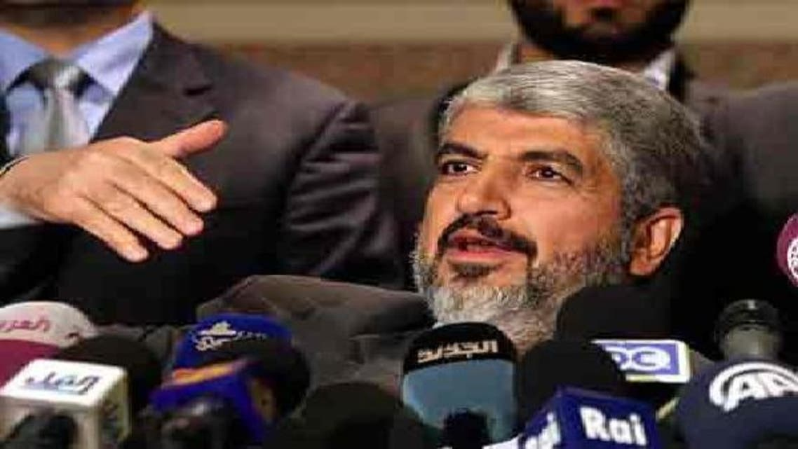 حماس کے جلا وطن رہ نما خالدمشعل کا کہنا ہے کہ ان کی جماعت تمام امکانات کے لیے تیار ہے