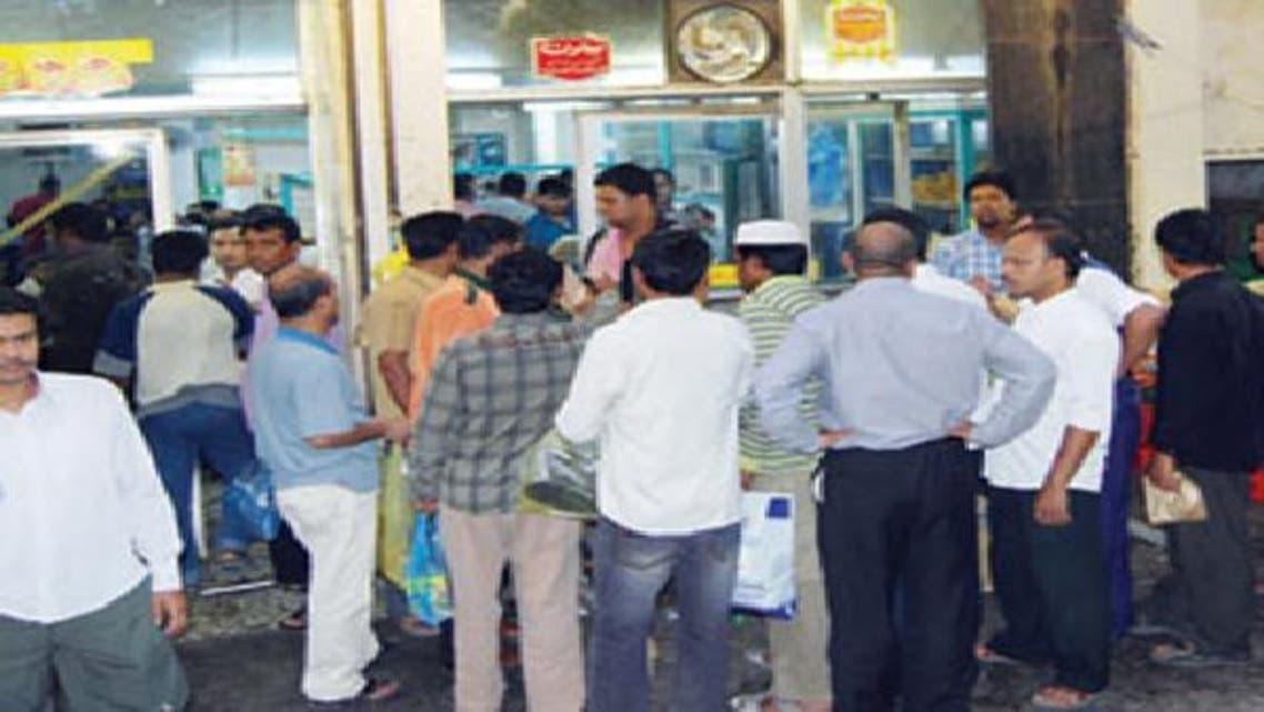 تجمع لعمال أجانب في السعودية