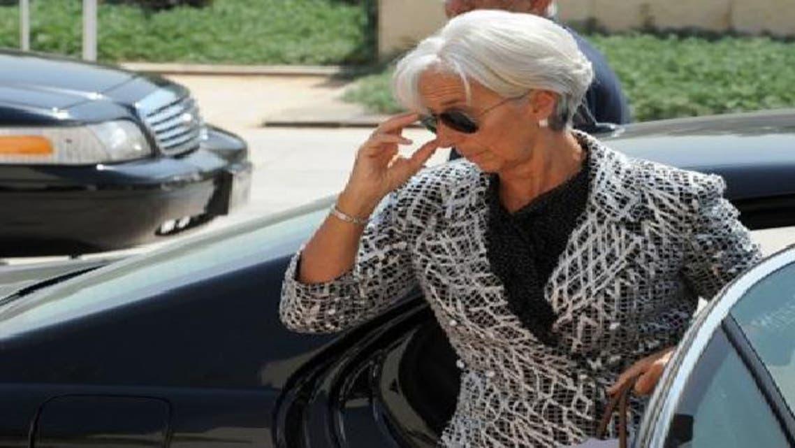 مديرة صندوق النقد الدولي كريستين لاغارد كانت في وقت سابق بمصر