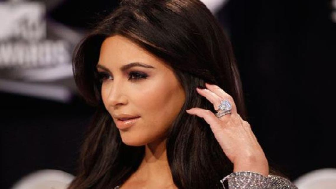 American reality TV star Kim Kardashian received violent criticism for her pro-Israeli tweets. (Reuters)