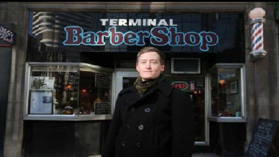 Faith McGregor sues Muslim barber Omar Mahrouk for denying her a \'business man haircut\'. (Courtesy of Toronto Star)