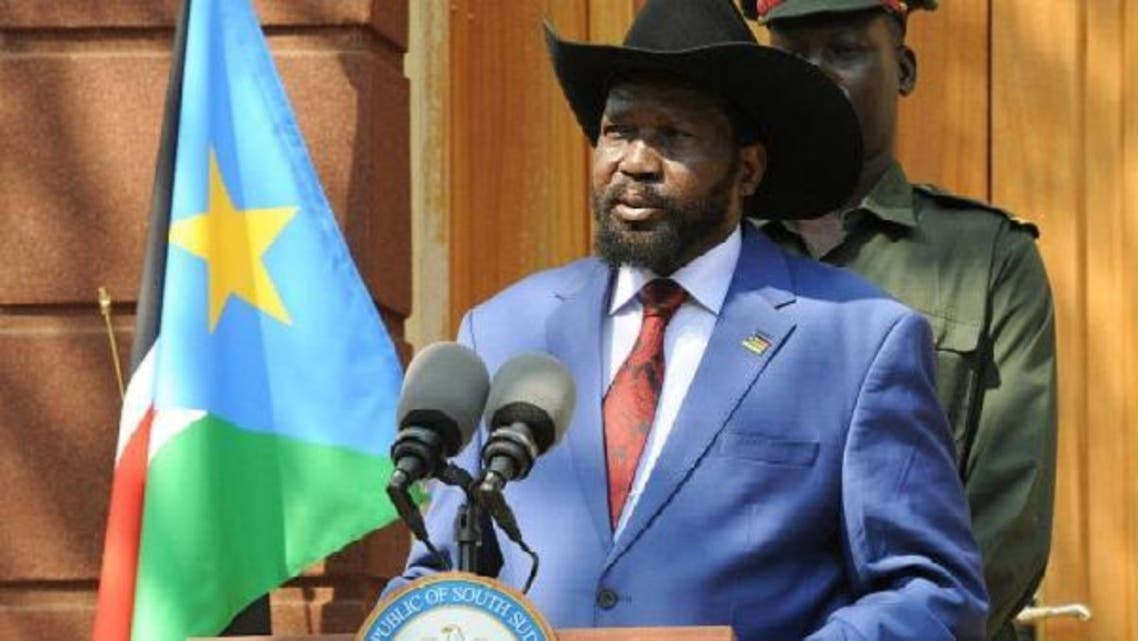 South Sudanese President Salva Kiir said the restarting of oil production is crucial fledgling the nation's economy. (AFP)