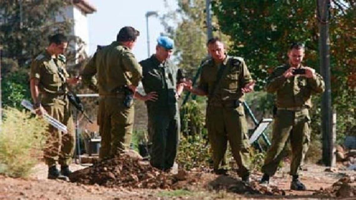 اسرائیلی فوج کی شامی علاقے کی جانب براہ راست گولہ باری
