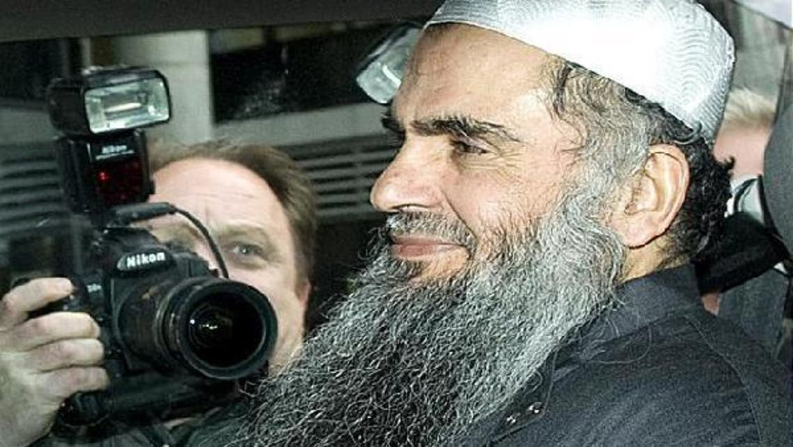 """The case of Abu Qatada, a Jordanian cleric of Palestinian origin described by a Spanish judge as """"Osama bin Laden's right-hand man in Europe"""", has been a thorn in the side of successive British governments. (AFP)"""