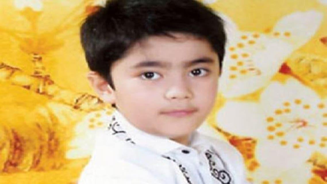 الطفل صلاح الدين يوسف عبد اللطيف جميل