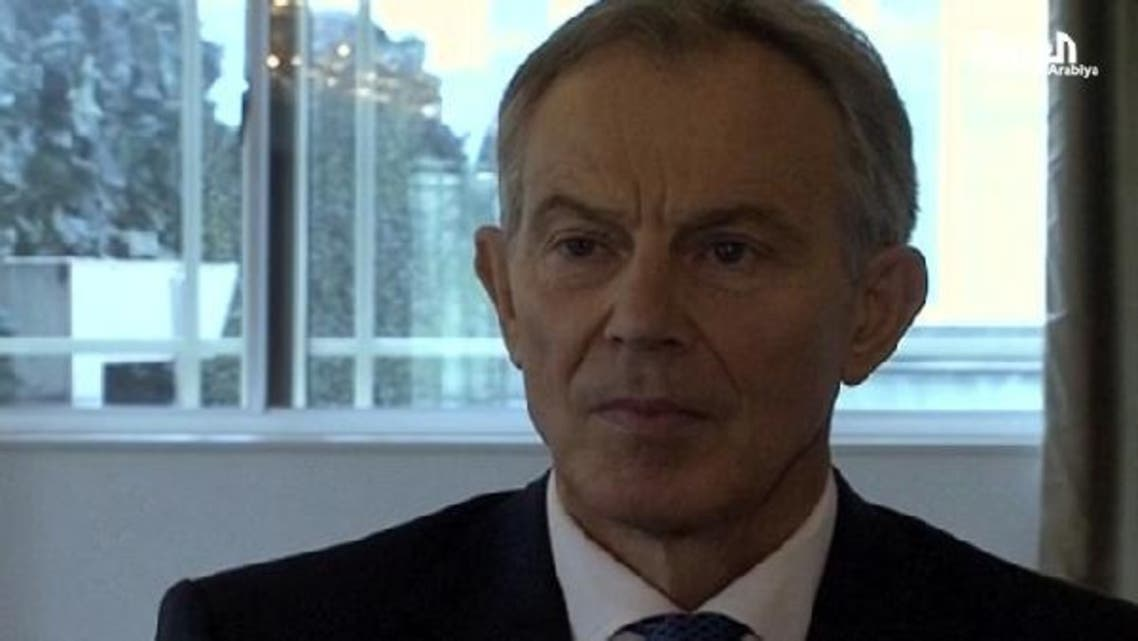 Attacks between Israel and Gaza is impacting the region says Tony Blair, former British Prime Minister and current Middle East envoy in an interview with Al Arabiya. (Al Arabiya)