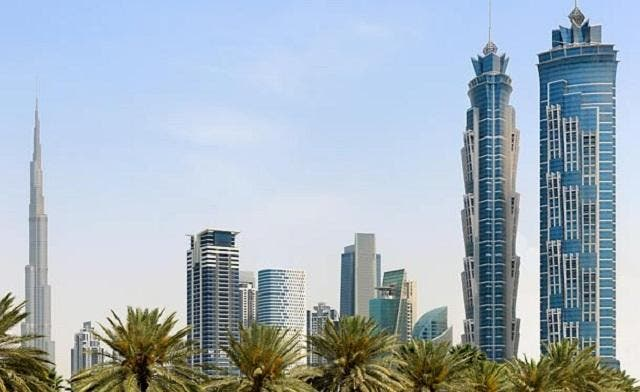 The JW Marriott Marquis Dubai is one of the tallest hotels in the world. (Photo courtesy Marriot Marquis)