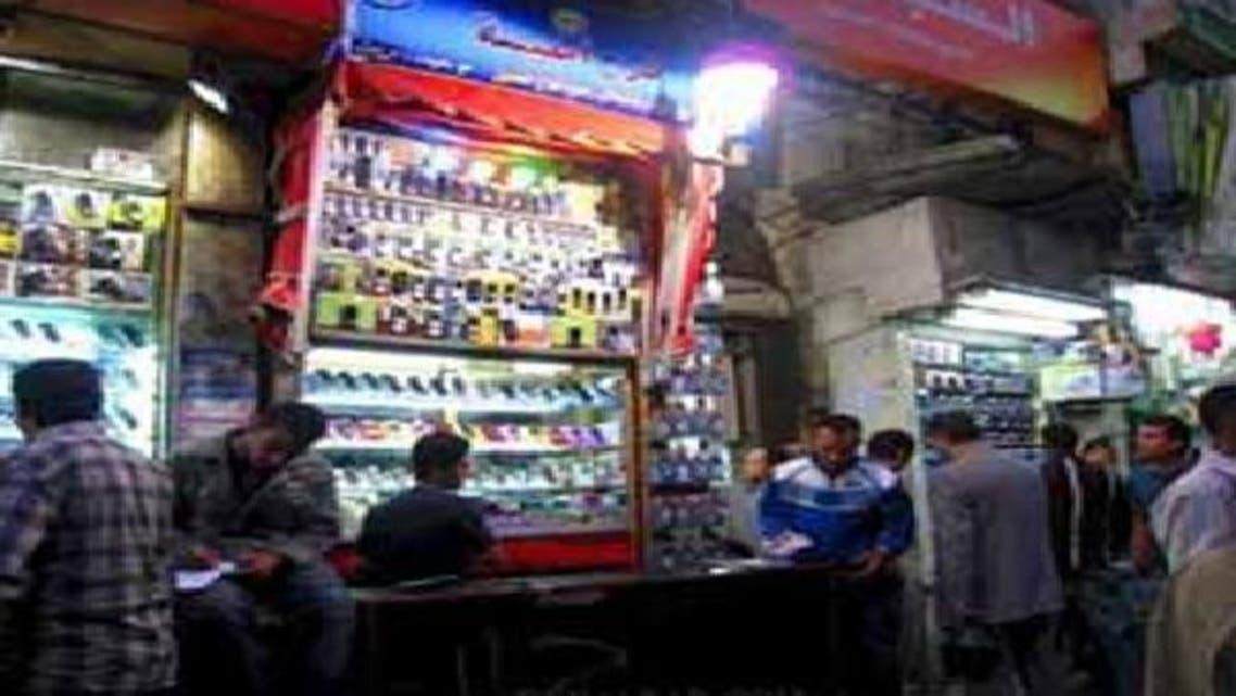 سوق لبيع المحمول في مصر