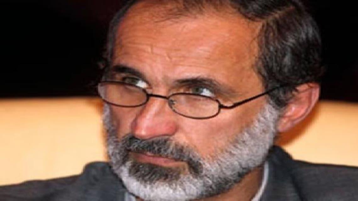 شامی اتحاد کے سربراہ  مسجد اموی کے سابق امام احمد معاذ الخطیب