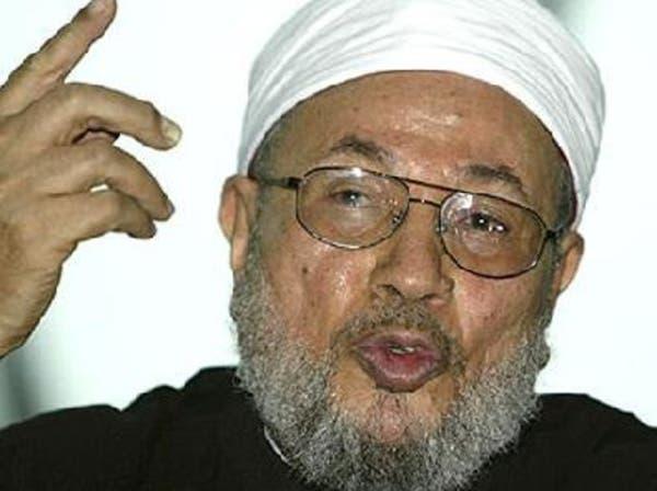 القرضاوي بالأزهر بشار يقتل شعبه بكل أنواع الأسلحة