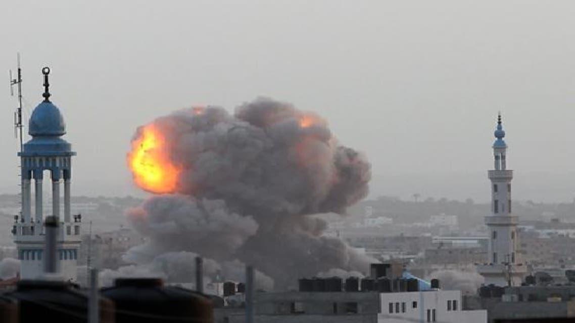 اسرائیل کا غزہ میڈیا کمپاؤنڈ پر حملہ، العربیہ کا دفتر بھی متاثر