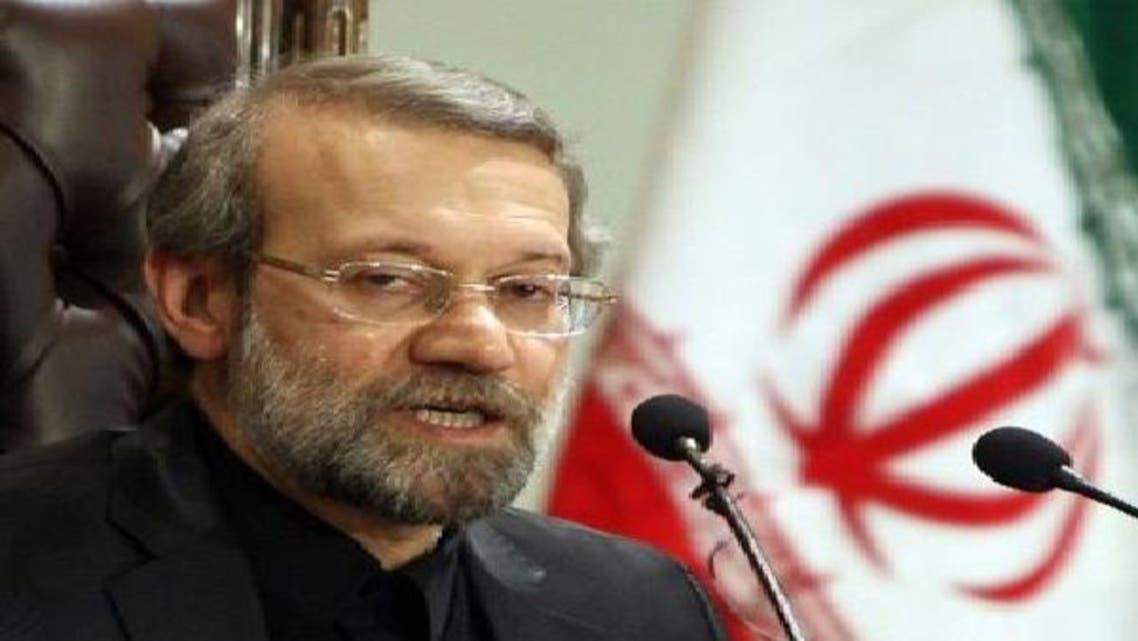 رئیس مجلس الشوری الإسلامي (البرلمان الإيراني) علي لاریجاني