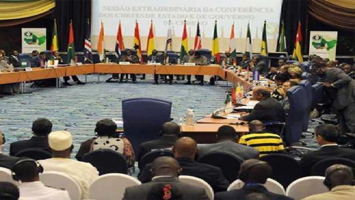 جانب من اجتماع دول غرب إفريقيا (إكواس)