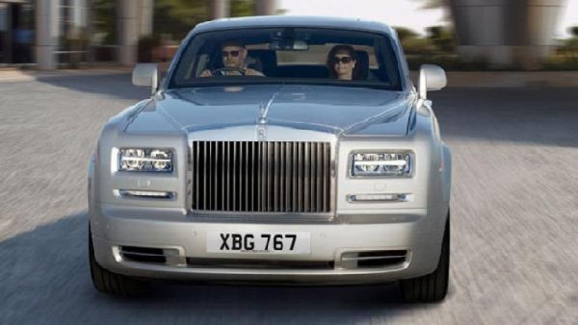 The Rolls Royce Phantom, unveiled in Qatar earlier this year, is a latest addition to the collection of the Doha Rolls Royce showroom. (Photo courtesy Rolls Royce Motor Cars Doha)