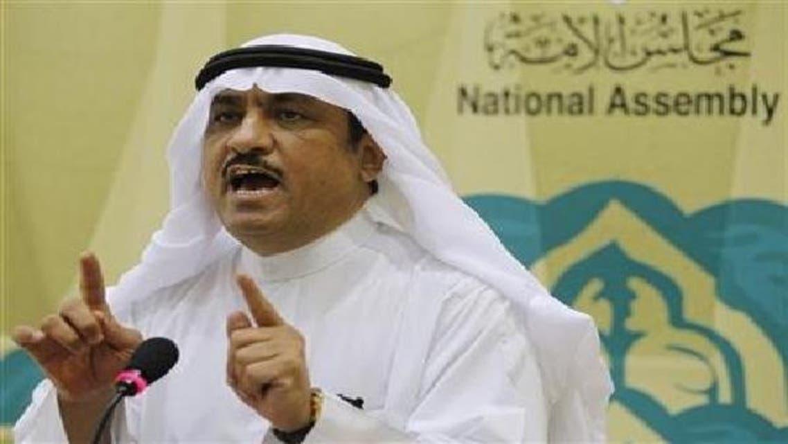 کویت کے گرفتار اپوزیشن لیڈر مسلم البراک کی فائل تصویر