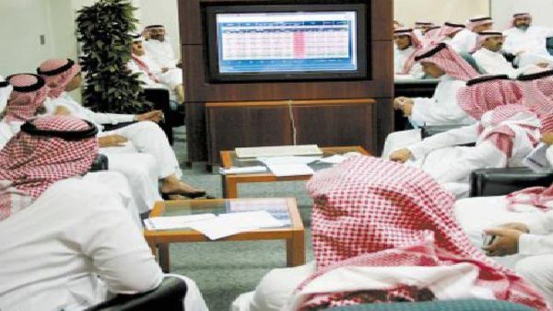 متعاملون في سوق الأسهم السعودية
