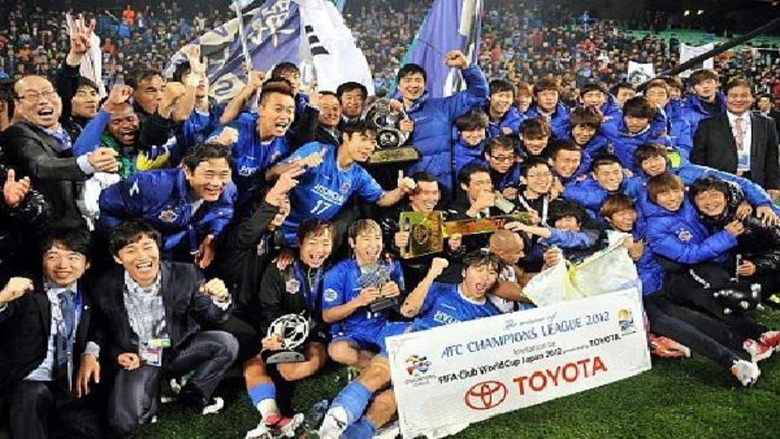 أولسان الكوري بطل النسخة الماضية سيغيب عن البطولة