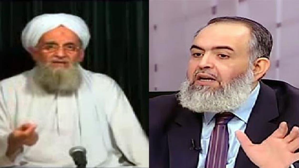 حازم صلاح أبو إسماعيل وأيمن الظواهري