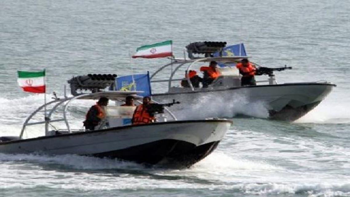 زوارق بحرية إيرانية (أرشيفية)