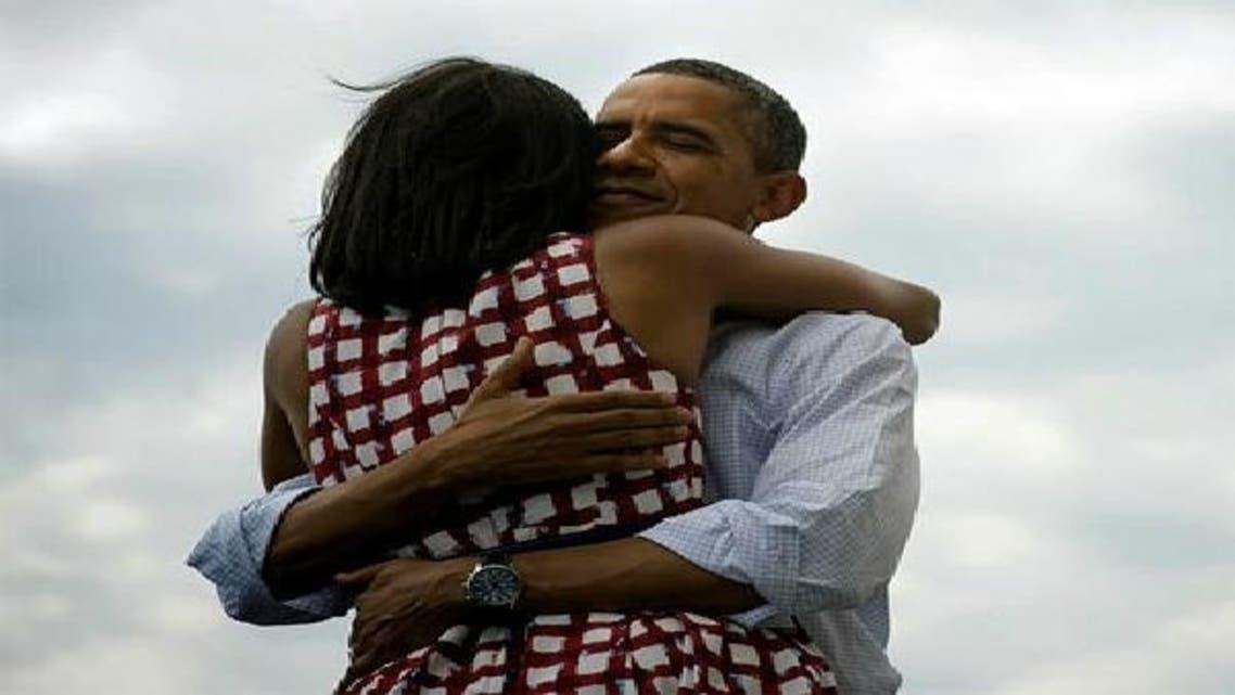 کامیابی کے فورا بعد اوباما کی ٹیوٹر پر ارسال کردہ تصویر