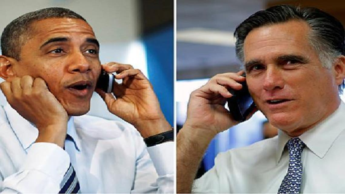 ميت رومني وباراك أوباما