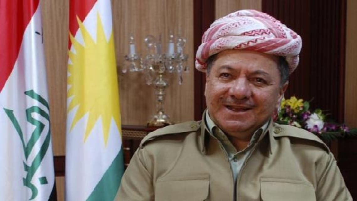Kurdistan region President Massud Barzani's visit to the province of Kirkuk on Monday may increase already-high tension with Baghdad, which has seen both sides deploy military reinforcement to areas in north Iraq. (Reuters)