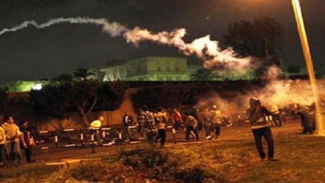 صدر مرسی کے مخالفین آئین پر ریفرینڈم کے خلاف احتجاج کر رہے ہیں