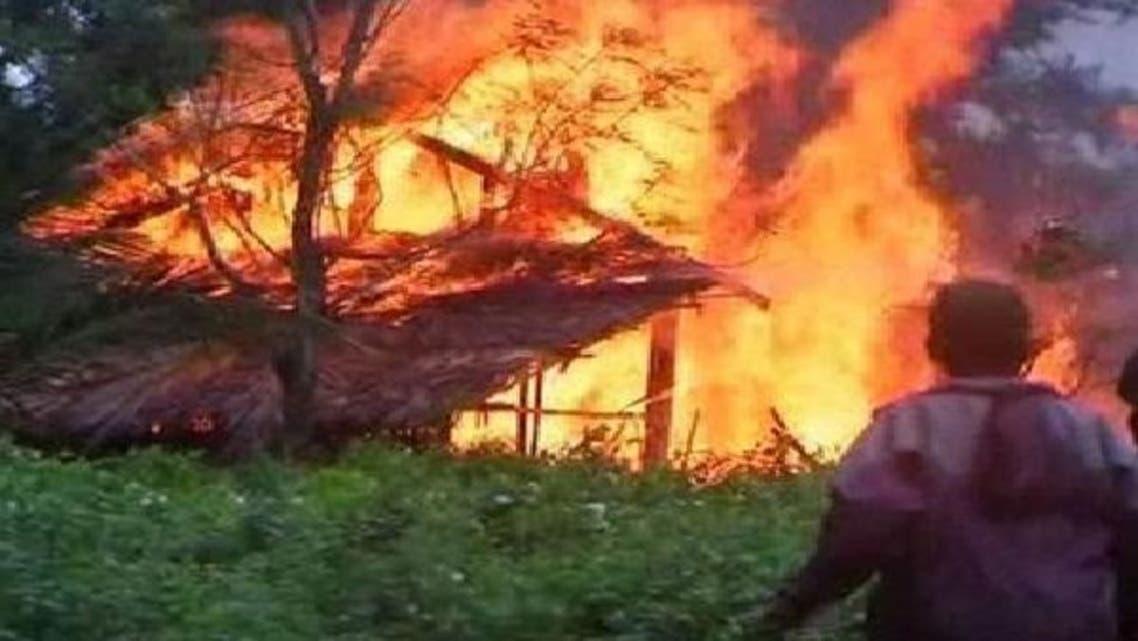 میانمار: نسلی تشدد کے واقعات میں 112 ہلاکتیں