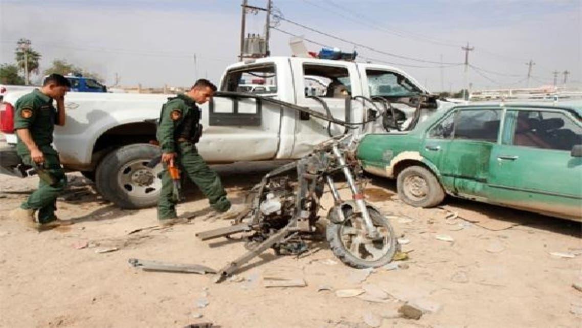 دھماکوں کا ہدف بننے والی گاڑیاں