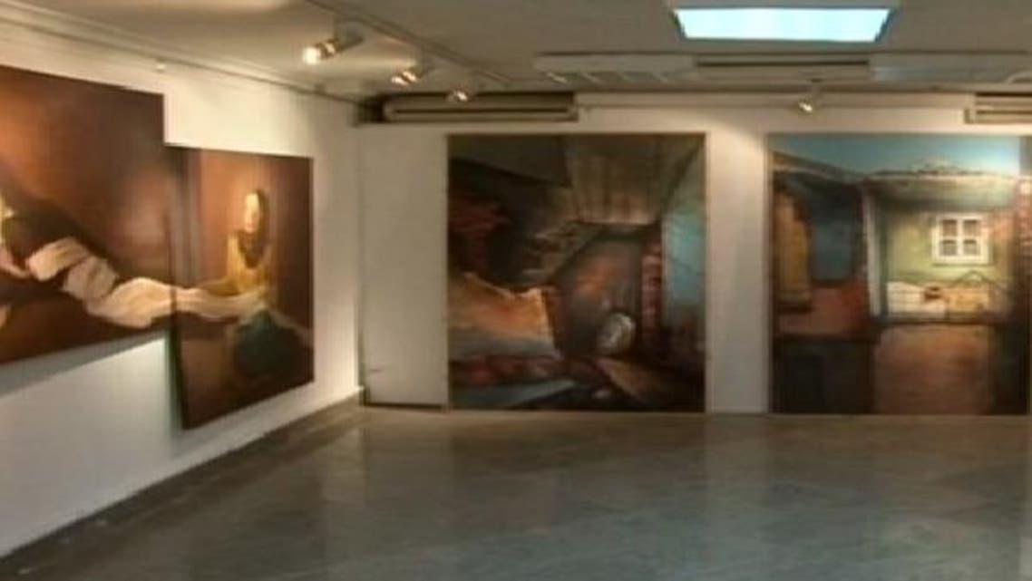 """افتتاح معرض \\""""صالون العرض الأول\\"""" في القاهرة"""