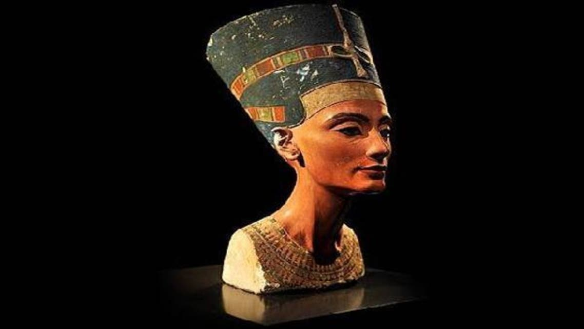 Nefertiti, renowned as one of history's great beauties, was the powerful wife of Pharaoh Akhenaton, remembered for having converted his kingdom to monotheism with the worship of one sun god, Aton. (AFP)