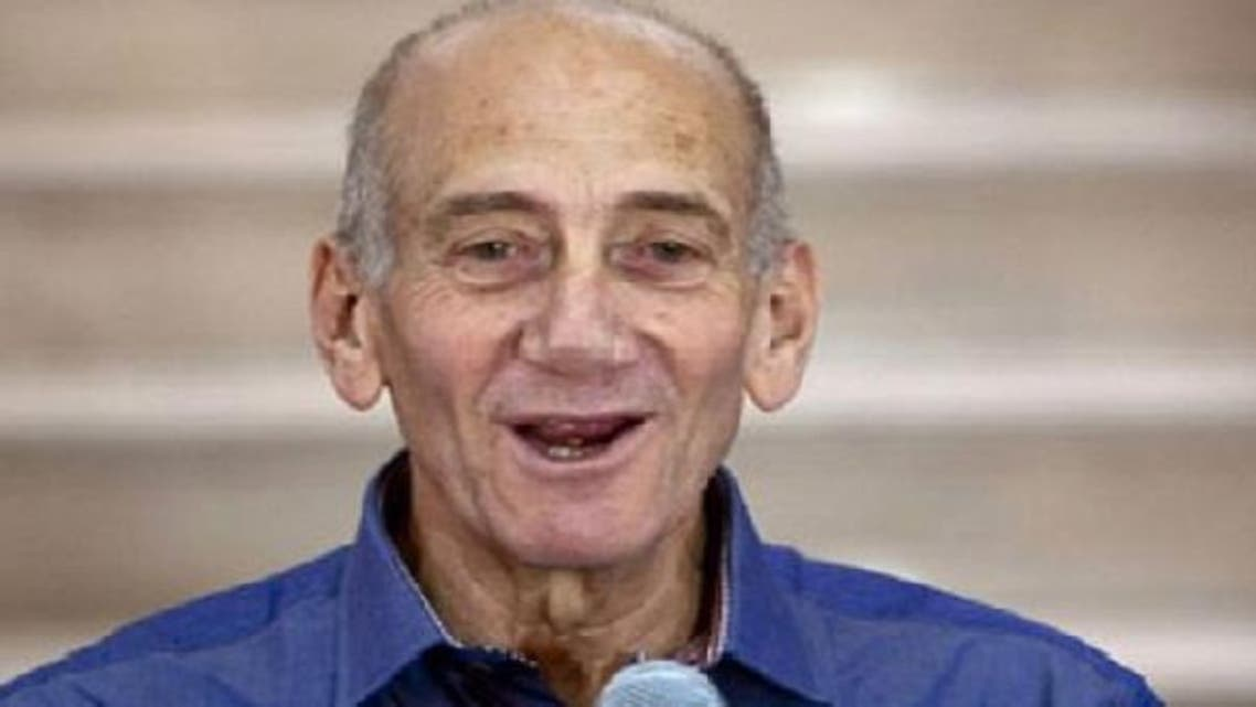Ex- prime minister Ehud Olmert said that Israel had no reason to oppose Palestine's UN observer state membership. (AFP)