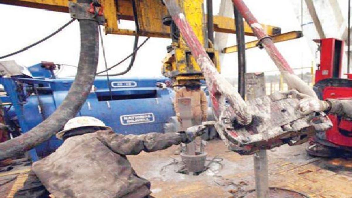 عمليات تنقيب عن الغاز الصخري
