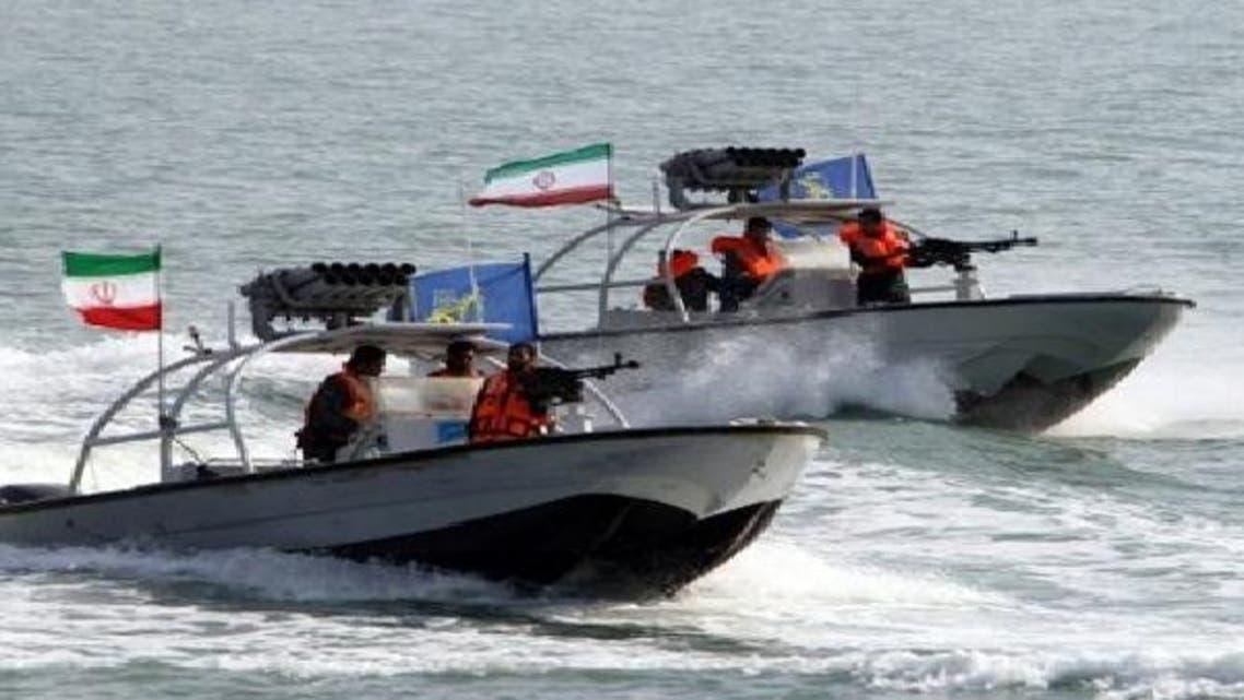ایرانی بحریہ کی تیز رفتار کشتیاں (فائل فوٹو)