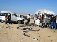 #مصر.. مقتل 6 أشخاص وإصابة 7 في تصادم بطريق السويس