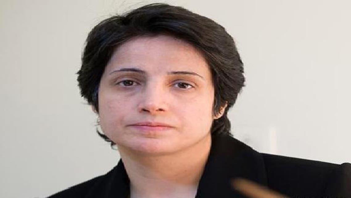 المحامية الإيرانية السجينة نسرين سوتوده
