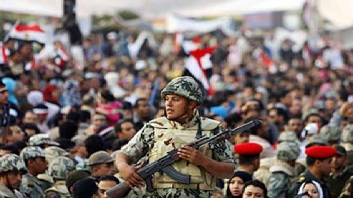 مصر: فوج کو شہریوں کی گرفتاری کے اختیارات سونپ دیے گئے