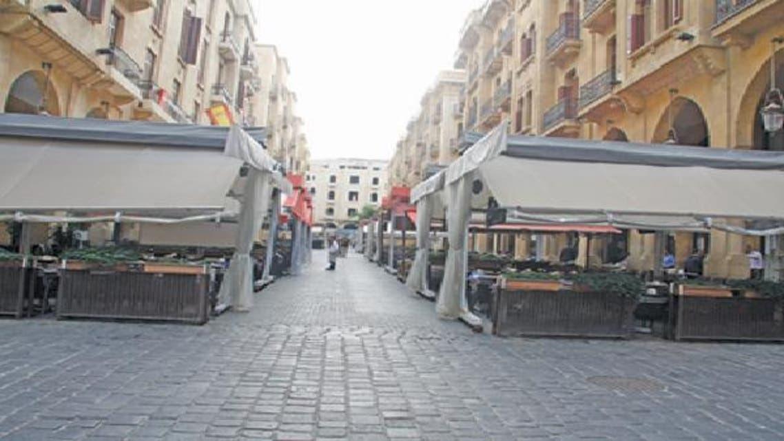 باتت مقاهي بيروت خالية من السياح