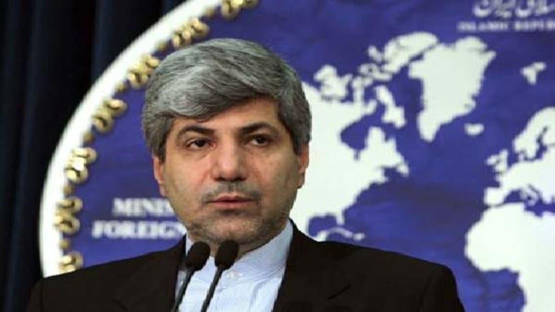ایرانی وزارت خارجہ کے ترجمان رامین مہمن پرست۔