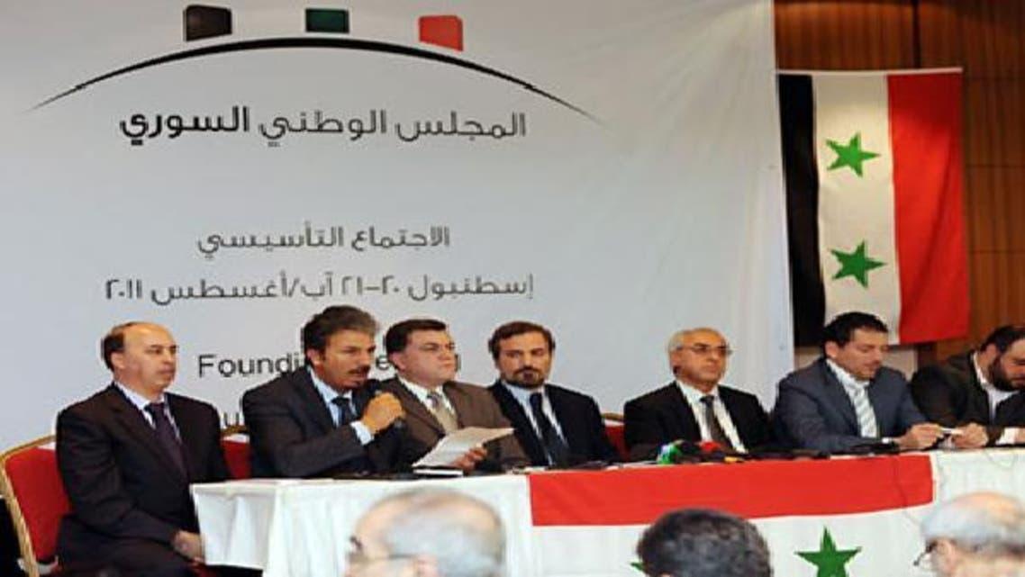 اجتماع سابق للمجلس الوطني السوري