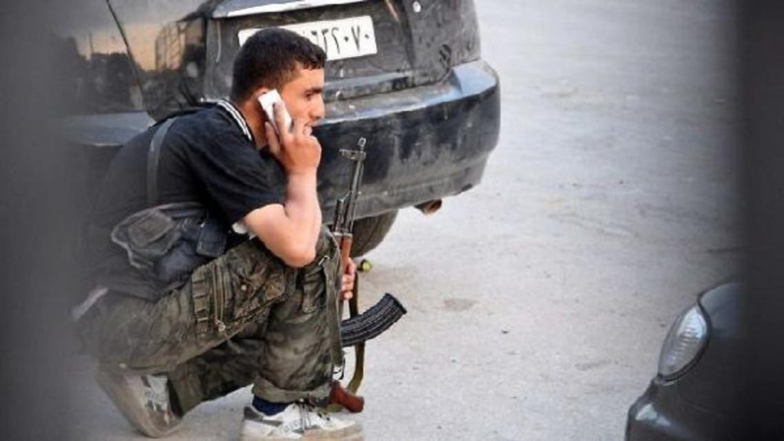 Internet and phone access was cut as fierce fighting was reported in Damascus. (AFP)