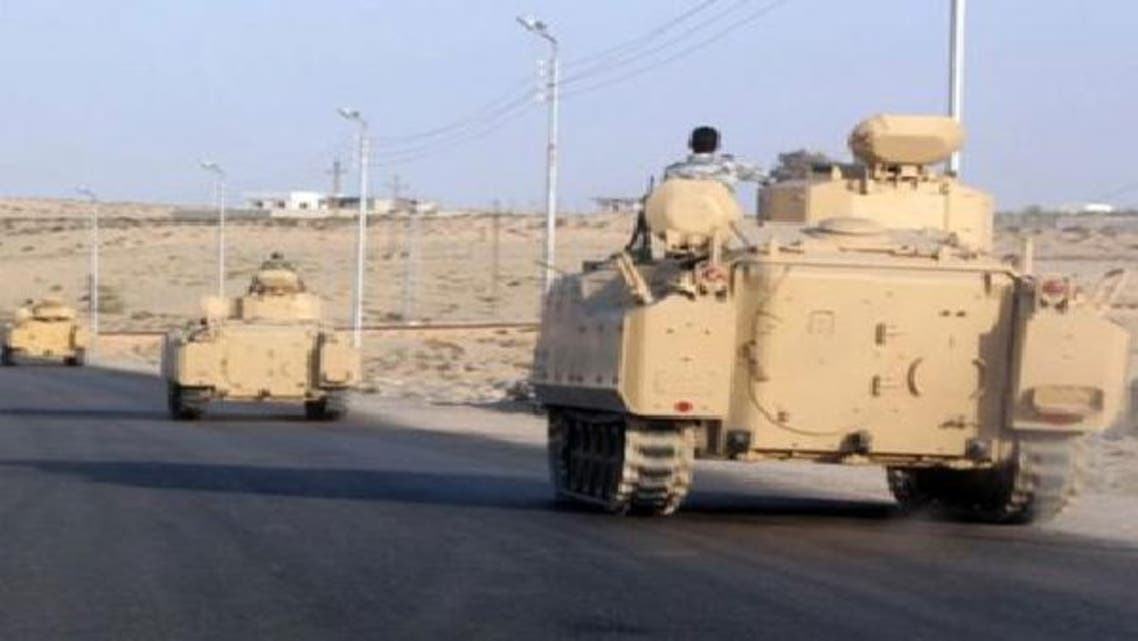 الجيش ينتشر في شمال سيناء وينفي حظر التجول