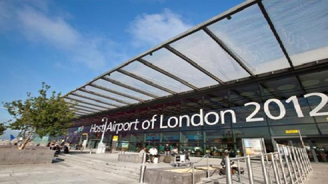 احد مداخل مطار هيثرو في لندن