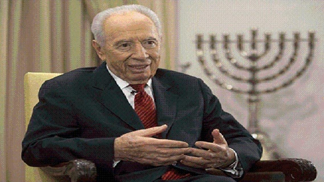 الرئيس الإسرائيلي شيمون بيريز